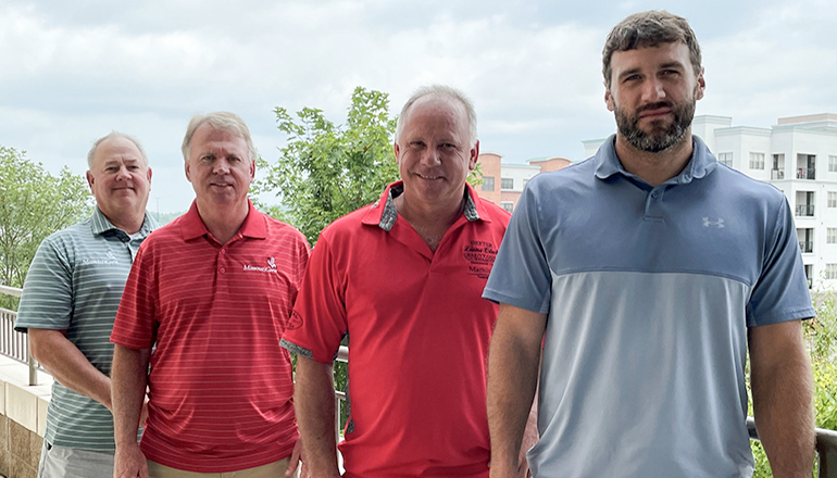 Missouri Corn Merchandising Council officers 2021