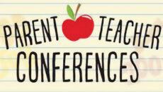 Parent Teacher conference news graphic