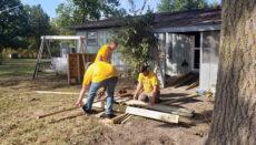 Serve Trenton building a disabled ramp