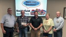Smithfield makes 30K donation to Grundy County Industrial Development