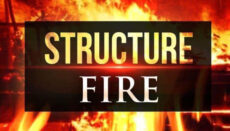 Structure Fire News Graphic